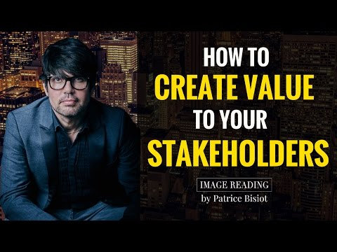 How To Create Value To Your Stakeholders