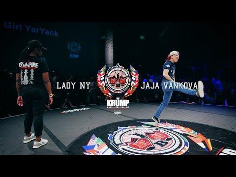 Lady NY vs Jaja Vankova   Female Top 8   EBS 2017