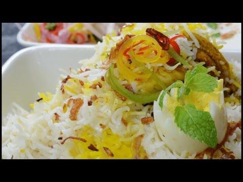 Chicken Biryani Indian Food - By VahChef @ VahRehVah.com