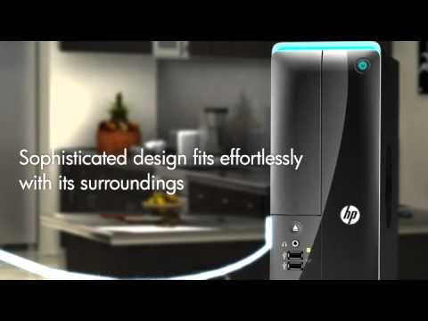 Video Preview for HP Pavilion Slimline s5 series Desktop PC - Black - YouTube