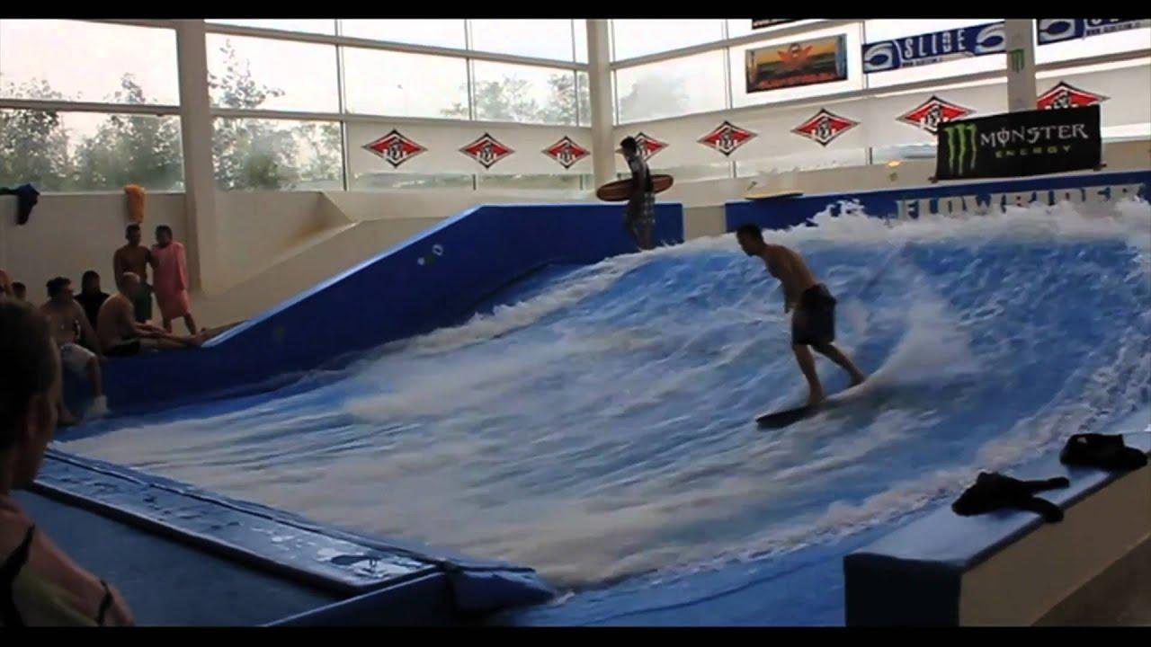 Probeat: evento surf dell\'anno al flowrider Bellavita - YouTube