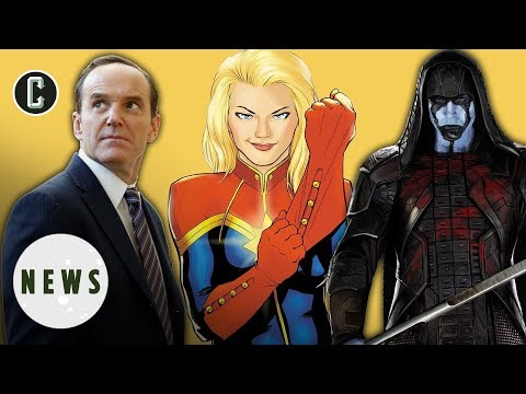 Captain Marvel Filming Begins; Clark Gregg and Lee Pace Join Cast