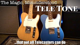 The Magic, Misunderstood Tele Tone (...that not all Telecasters can do)