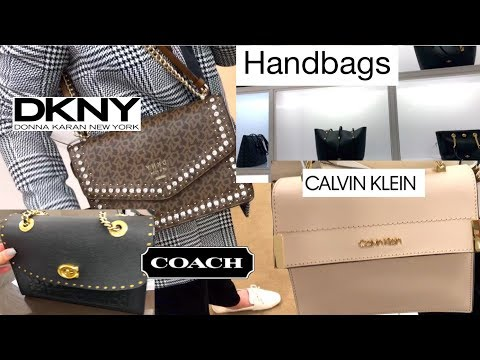 COACH, DKNY AND CALVIN KLEIN | Bags And Prices Part 2