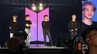 190321 Ending talking BTS(방탄소년단) Love Yourself Tour in Hong Kong Fancam thumbnail