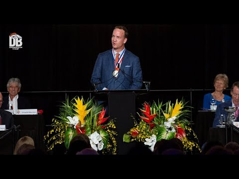 Peyton Manning inducted into Colorado Sports HOF
