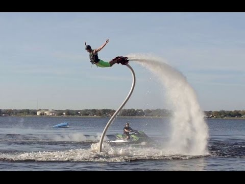 Epic Flyboarding in Florida!!