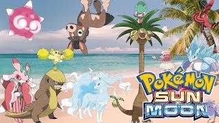 Z ATTACKS! ALOLAN FORMS! NEW POKEMON! TRIAL CHALLENGES & TOTEM POKEMON! SUN AND MOON!