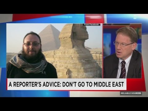 A reporter's advice: Don't go to the Middle East