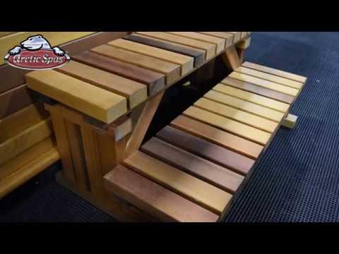 How to Assemble Arctic Spa Cedar Steps | ArcticSpaStore.com