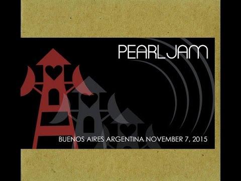 Pearl Jam - La Plata Argentina 2015 HD (FULL CONCERT)