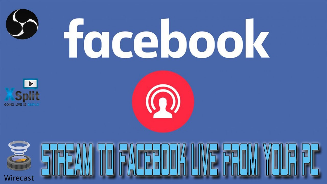 how to facebook live pc version