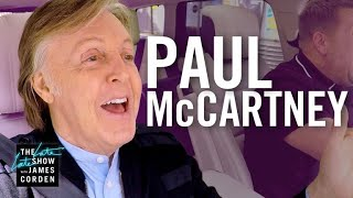 Paul McCartney Carpool Karaoke thumbnail