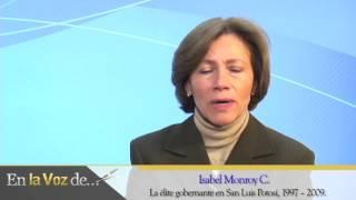 isabel monroy la élite gobernuis potosí 1997 – 2009