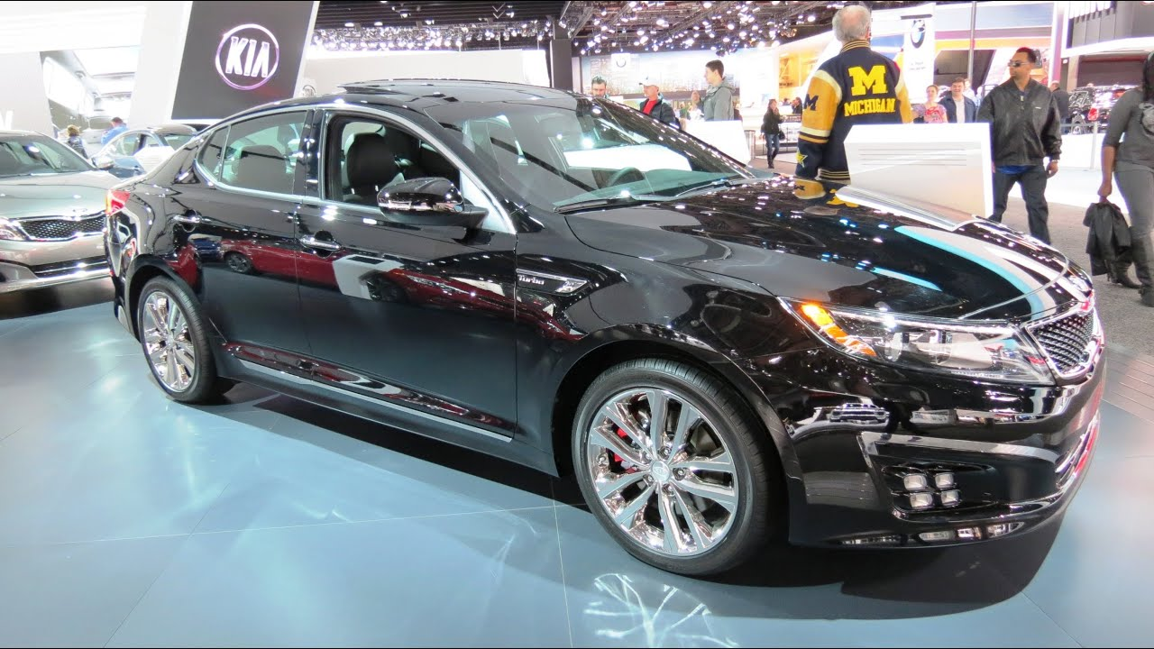2014 kia optima sxl turbo at the 2014 naias auto show youtube. Black Bedroom Furniture Sets. Home Design Ideas