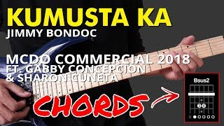 Kumusta Ka - McDo 2018 Commercial ft. Gabby Concepcion & Sharon Cuneta CHORDS
