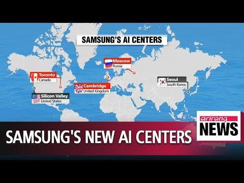 Samsung aims to run 5 international AI centers