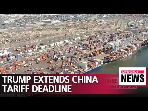 Trump extends China tariff deadline, citing progress on trade talks Mp3