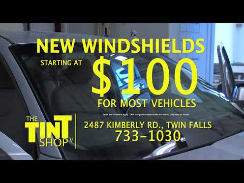 the tint shop windshield replacement 2017