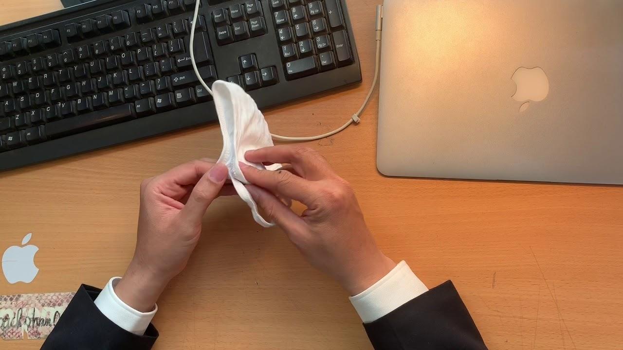 Review khẩu trang vải kháng khuẩn 100% cotton phòng dịch Covid 19 của Dệt Kim