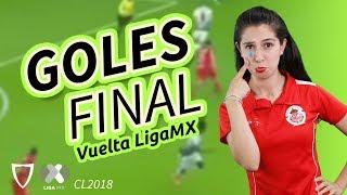 Goles Toluca 1-1 Santos Final Vuelta - Clausura 2018 Liga MX | Santos Campeón 20-Mayo-2018