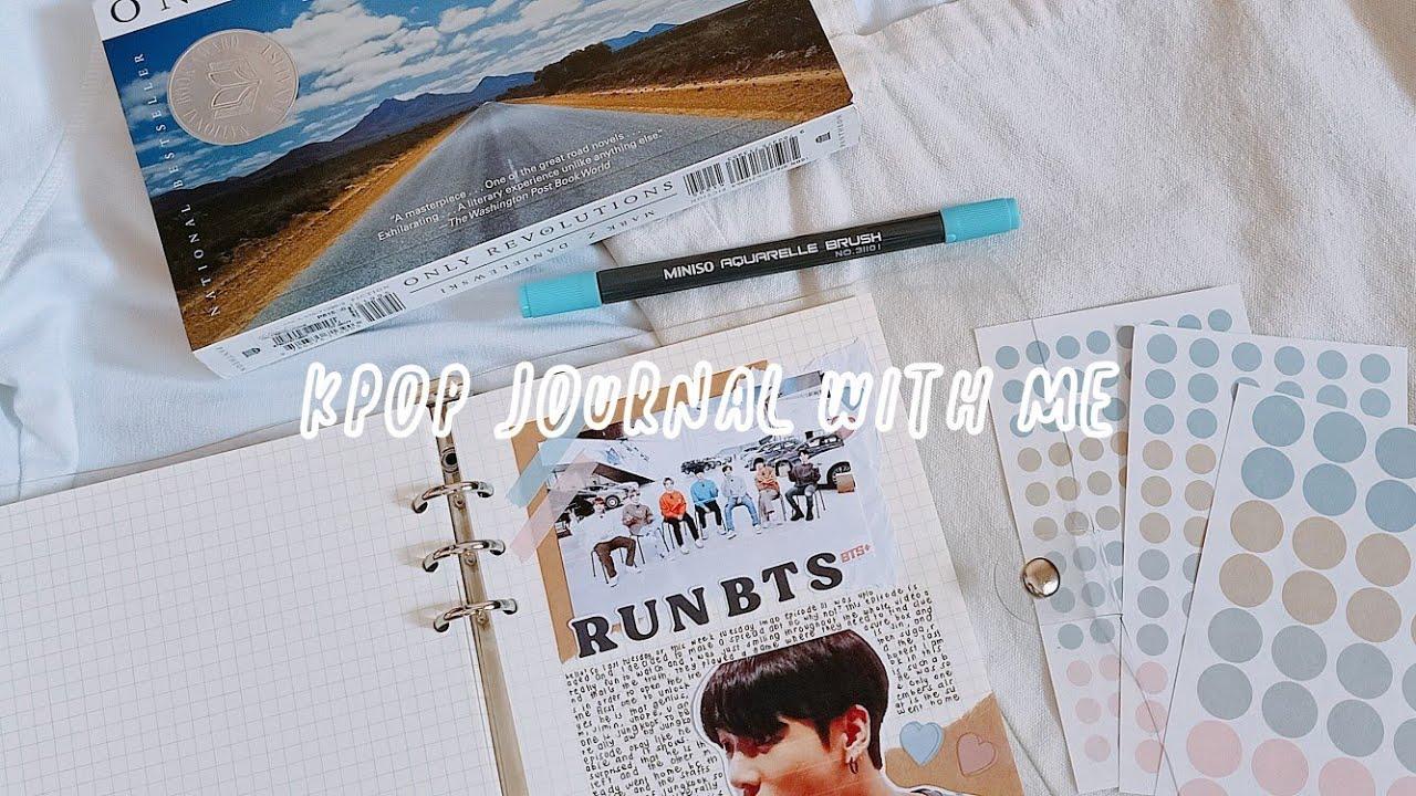 ? kpop journal with me // run bts
