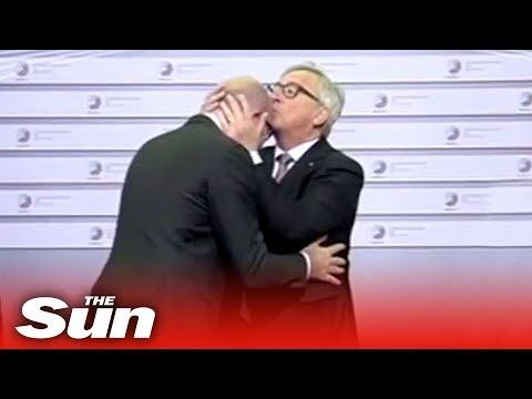 Juncker's weirdest moments
