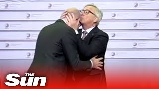 Juncker's weirdest moments