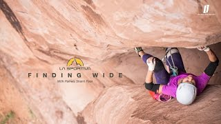 First ascent - Pamela Shanti Pack || Off-width crack climbing in the Moab desert (La Sportiva)