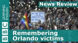 BBC News Review: Remembering Orlando victims