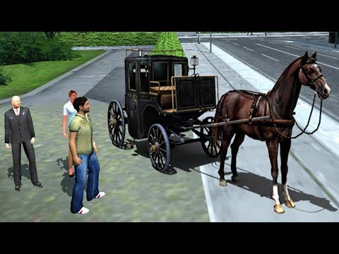 Horse Carriage Transport 2017 | Android Gameplay HD