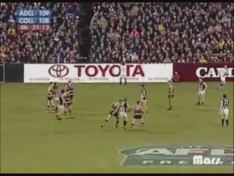 AFL Greatest Moments-Chris Tarrant's goal after the siren sinks the Crows, 2003