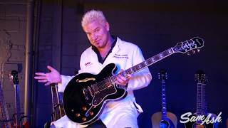 Epiphone Sheraton Electric Guitar at Sam Ash Music
