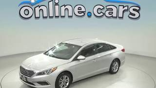 G98536TR Used 2017 Hyundai Sonata SE FWD 4D Sedan Silver Test Drive, Review, For Sale