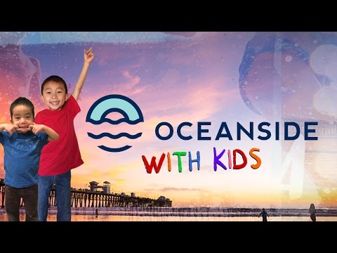 Fun Things to do in Oceanside, California with Kids (#kidifornia): Traveling with Kids
