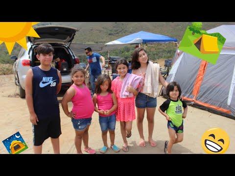 Camping En Familia  NenizAriel