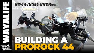 Jeep Wrangler Front Axle Dynatrac ProRock 44 : Building of a PR44 JL - How it's Made