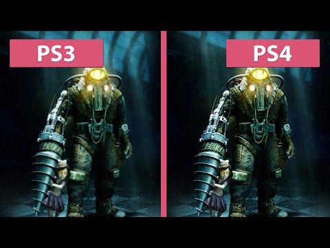 BioShock 2 – PS3 Original vs PS4 Remaster Graphics Comparison