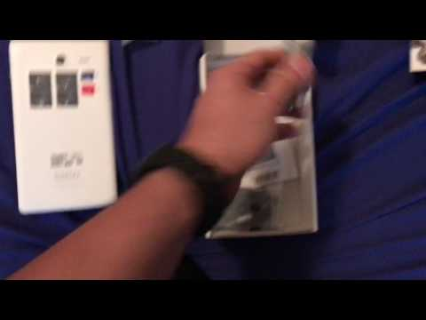 T-Mobile Alcatel One Touch Pop 7 LTE w/JBL headphones unboxing
