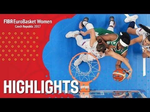 Serbia v Slovenia - Highlights - EuroBasket Women 2017