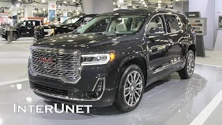 2020 GMC Acadia Denali AWD SUV with 3-row Seating