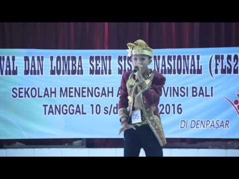 Bhuana Shanti - I Komang Wahyu Prasetya (FLS2N Duta Provinsi Bali 11072016)