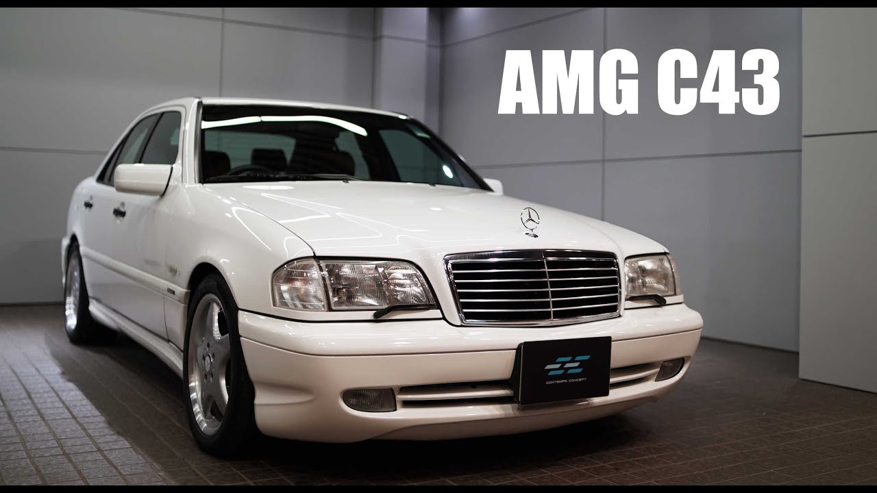 Detailing Mercedes-Benz C43 AMG