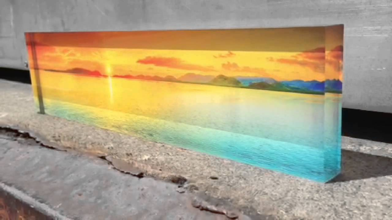 iPhone 5 Panorama Transformed Into Acrylic Photo Block - YouTube