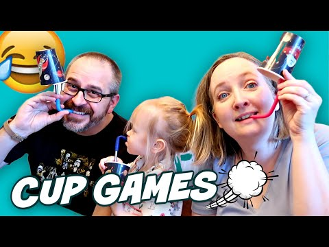 3 Games With Cups For Kids | Indoor Games EVERYONE Can Play