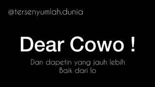story wa terbaru 30 detik dear cowo