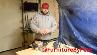 Tool Review:  The Triton triple Blade Planer