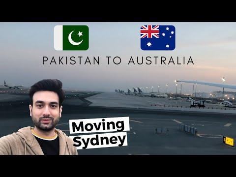 Pakistan To Australia