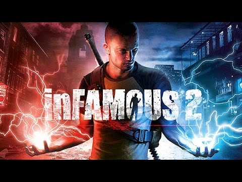 Infamous 2 all cutscenes HD Game