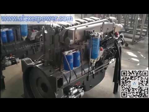 Weichai Steyr 618AD Diesel Engine 330kw for Diesel Generator